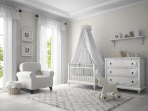 baby nursery painting